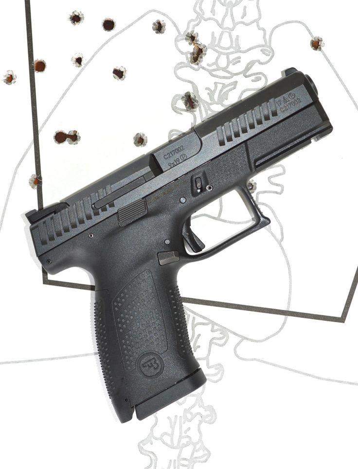 Range Report: CZ's Polymer Pistol — The CZ P10-C