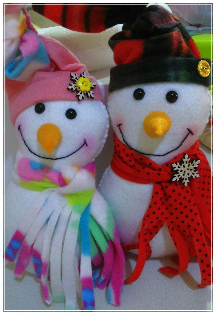 Bonecos de neve ⛄ ⛄   assim a gente amaaaa né