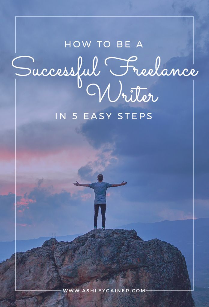 Want to make money from home as a writer? These are the (only) 5 steps you need to take to get started. It doesn't have to be complicated!