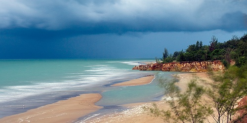 Stormy Beach, Darwin, Australia