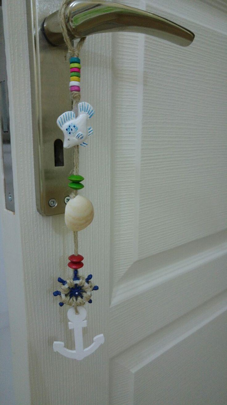 Minik bir kapi dekoru :)