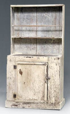North Carolina, late 19th century(oh to have this grand piece in my dining room? i LOVE these old cupboards! Pat B)