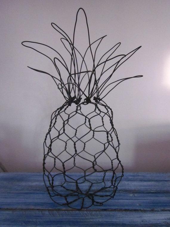 Pineapples symbolize hospitality