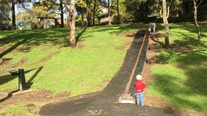 ellaslist sent an explorer to Newlands Playground