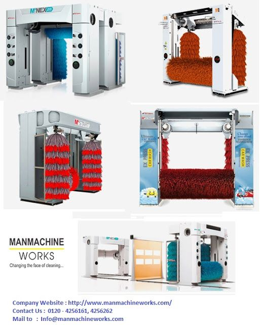Manmachine Works : Automatic Car Wash System in india: Finding The Right Automatic Car Wash System