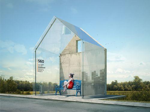 Проекты - идеи sub espacio bondi transparente