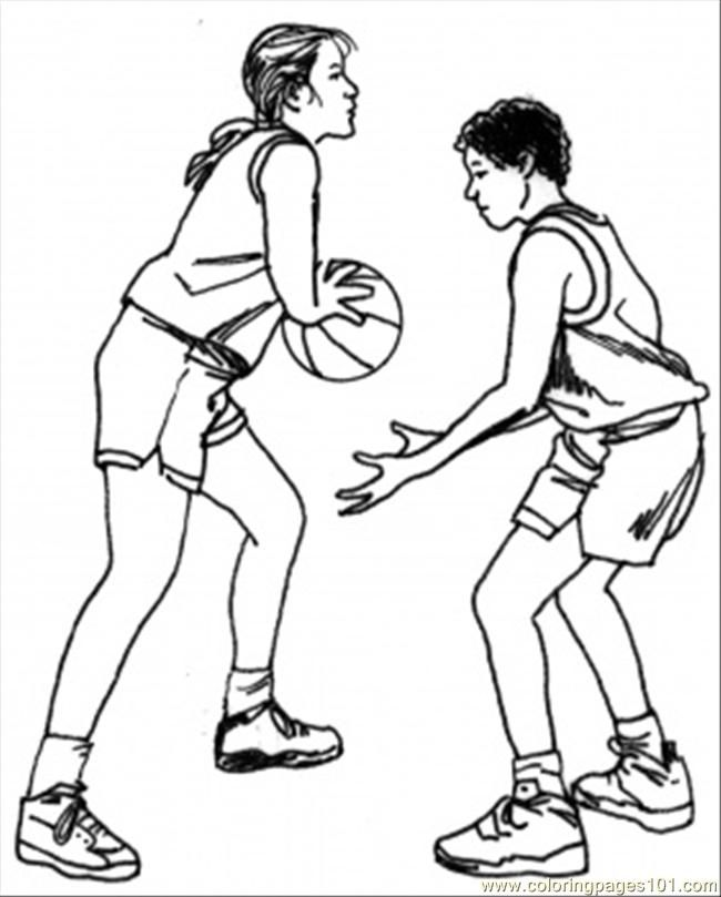 awesome printable coloring page basketball team sports coloring pages httpwww