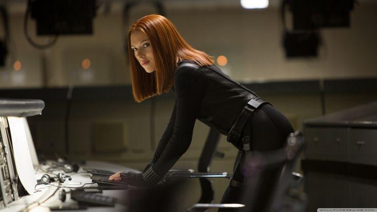 Actress Black Widow Curly Hair Iron Man Redheads Scarlett