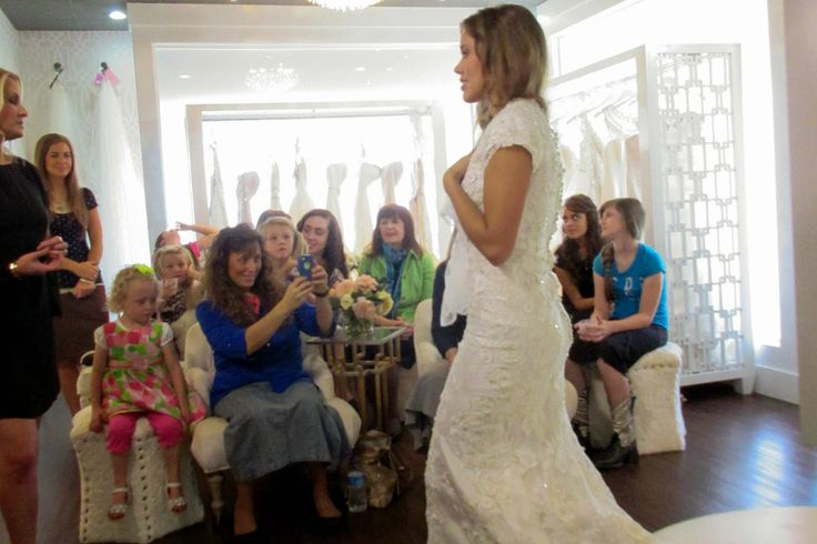 Jessa Duggar Seewald wedding dress shopping