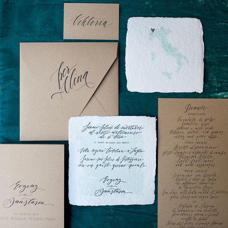 wedding invitation, letterpress