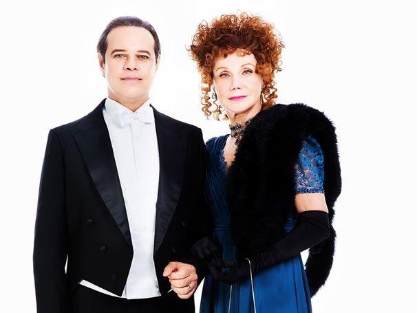 'Sim! Eu Aceito', versão nacional de clássico espetáculo da Broadway Diogo Vilela e Sylvia Massari (Foto: Divulgação) http://glo.bo/1zhI4EX