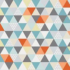 Papier peint enfant géométrique Kaléidoscope