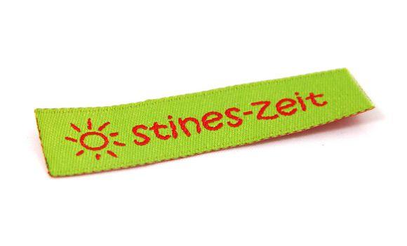 Webetiketten und Namensbänder für Kleidung zu günstigen