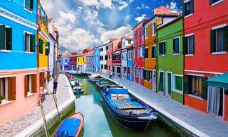 Burano, la città più colorata d'Italia