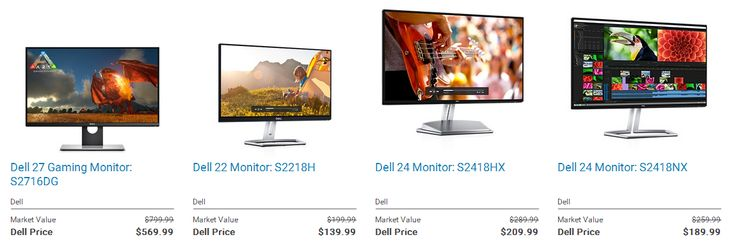 Save up to $230 on Dell S Series #Gaming and #Multimedia #Monitors. 24 hours left only (5/9/17) http://www.scottsdale.hub4deals.com/store-coupons?s=Dell