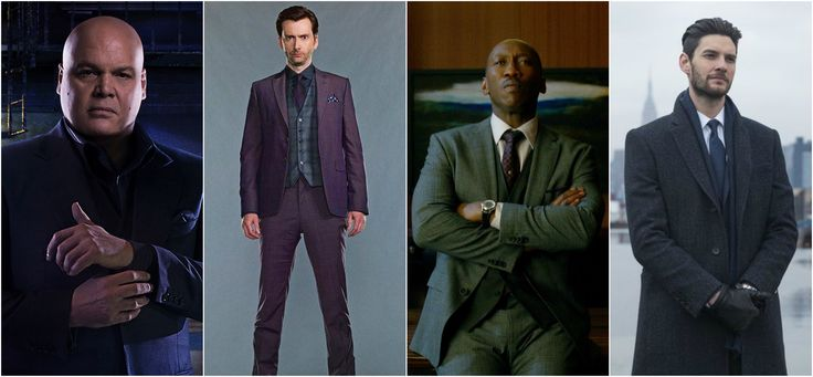 All good villans wear suits {Season 1 Spoilers}