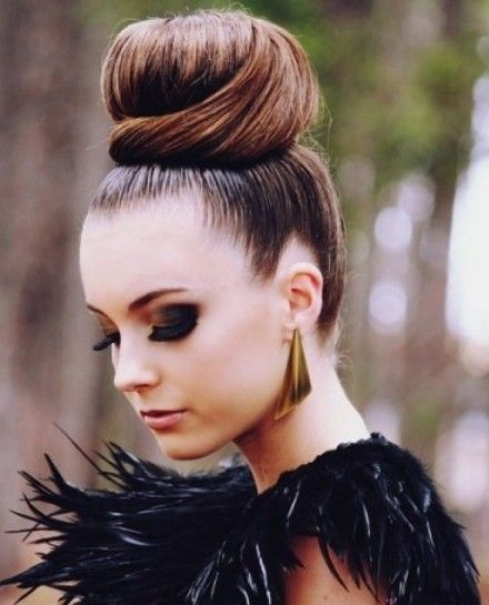 Perfect Long Hair Ballerina Bun