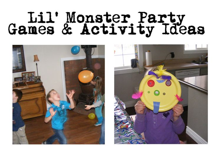 Everyday Mom Ideas: Some good monster party game ideas