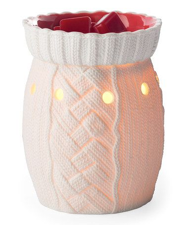 Take a look at this White & Red Holiday Sweater Illumination Wax Warmer by Candle Warmers on #zulily today!