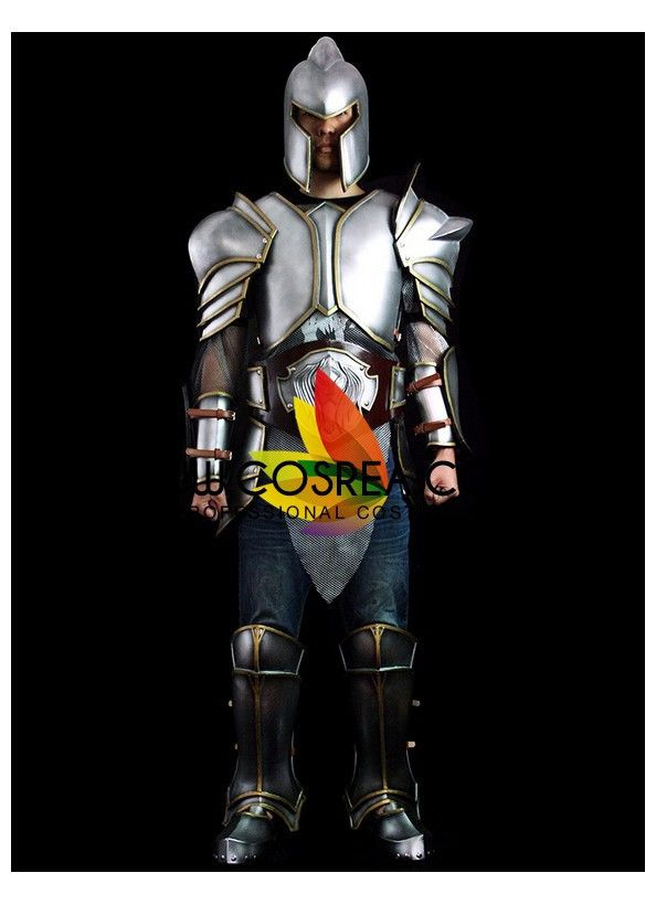 World of Wacraft Movie Stormwind Guard Complete Cosplay Costume