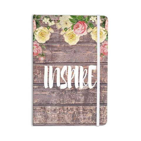 """Suzanne Carter """"Inspire"""" Contemporary Typography Everything Notebook"""