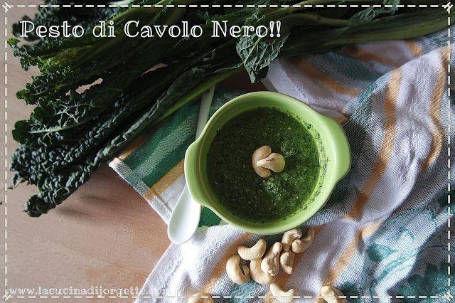 la cucina di Jorgette: ---> PESTO DI CAVOLO NERO <----
