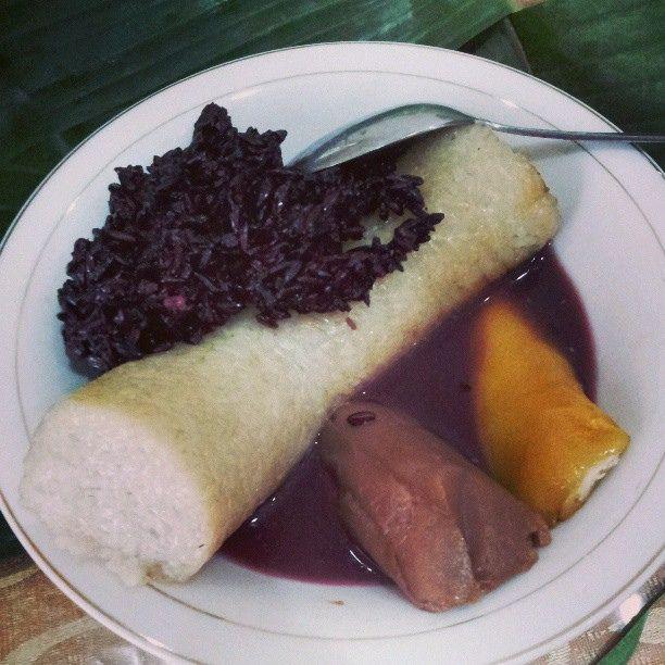 Makanan khas #Medan #lemang #pulut #hitam #kue basah :9 Mantap ...