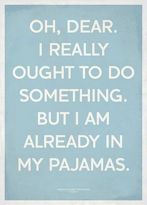i love this excuse :)