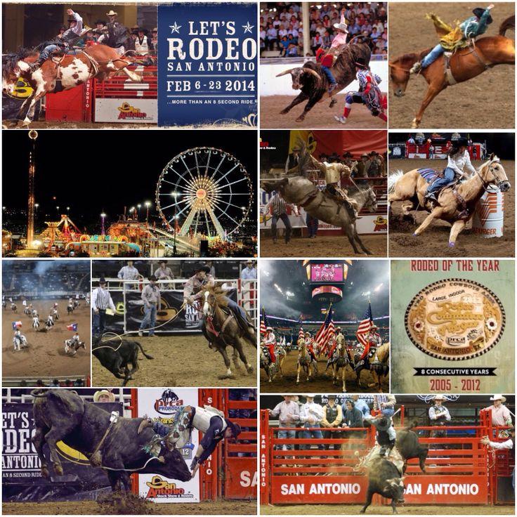 The San Antonio Stock Show & Rodeo in San Antonio, Texas, USA is ...
