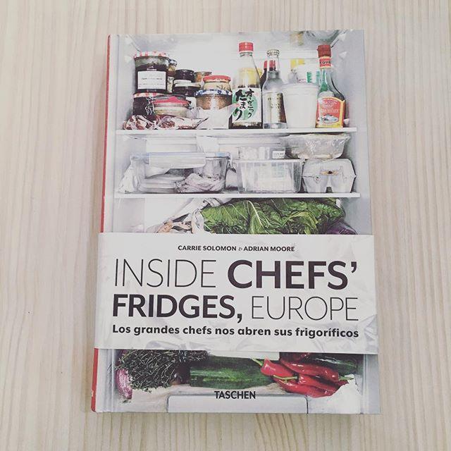 Los grandes chefs nos abren sus frigorificos #taschen #book #chef #kitchen #cocina #brunchitorganic #book #malaga #brunchmalaga