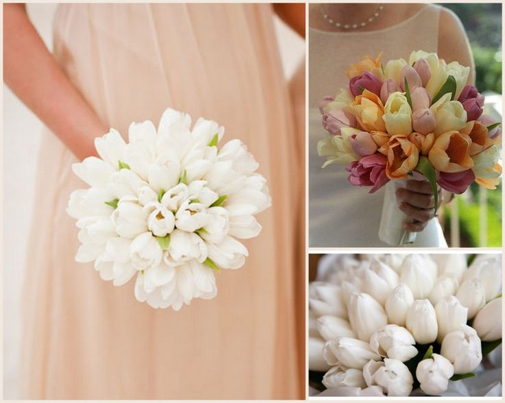 Sweet Spring tulip bouquets