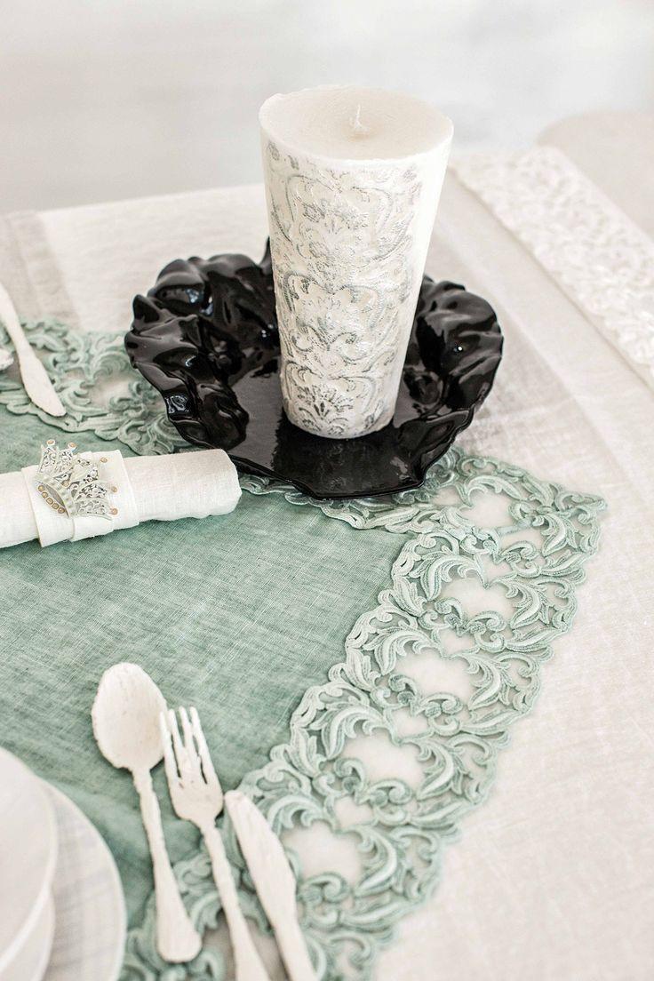 #danieladallavalle #artepura #fw15 #collection #white #green #table