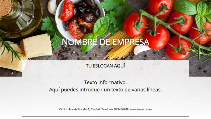 Plantilla anuncio  negocio