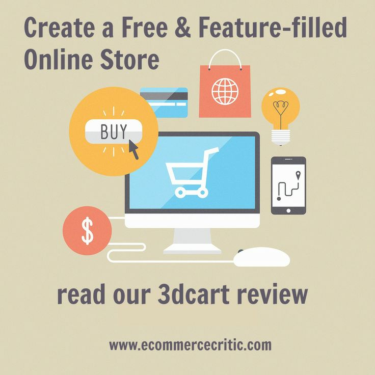 Create a Free & Feature-Filled Online #Store. Read our 3dcart Review by @eCommerce Critic #ecommerce #3dcart