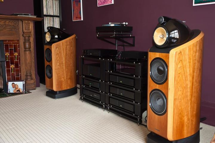 B&W speakers available at Clear Audio Design in Charleston, WV.