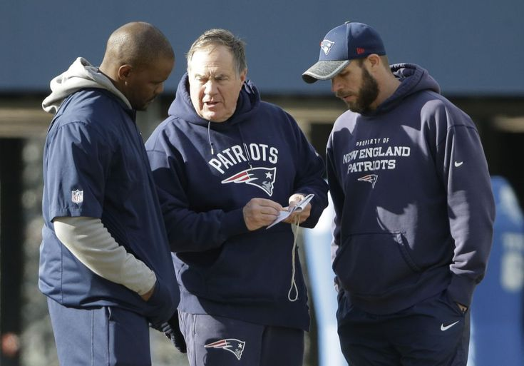 Who would be next up if Patriots lost McDaniels, Patricia or Caserio?