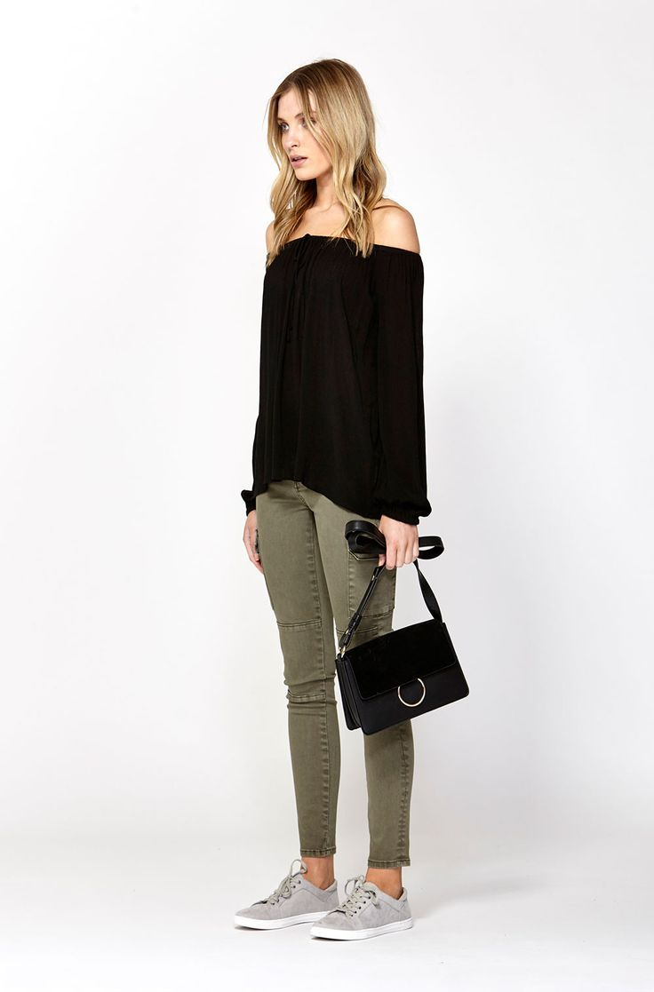 The best of what's new! Shop the Milly Off The Shoulder Blouse in stores and online now www.decjuba.com.au @Decjuba