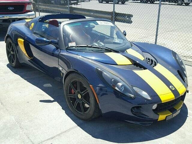 #salvage #forsale 2005 #LOTUS #ELISE www.bidgodrive.com #exotic #luxury #italia #italiancar #uae #dubai #fast #speed #lambo #itslit  #track #race #drifting #drift  #bullrun #classic #nice #bad #fly #collectors #throwback #rare