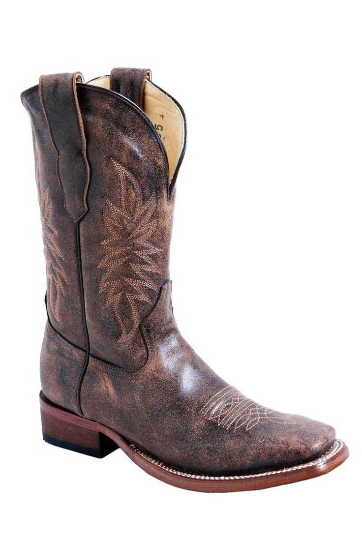 Corral Boots Men's Brown Square Toe Cowboy Boots   Men's Boots