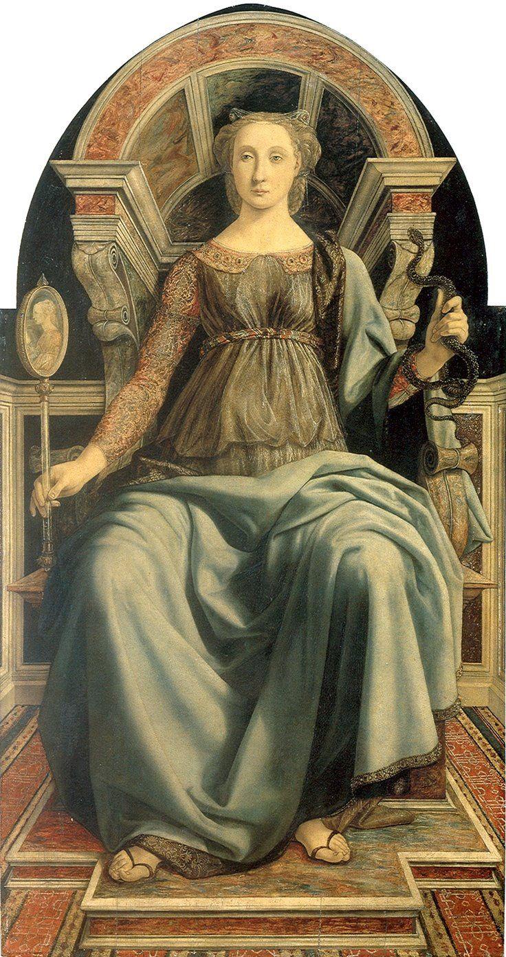 Prudencia Piero del Pollaiolo 15th century