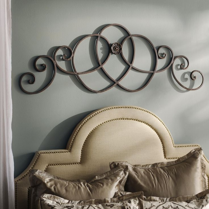 You can hang this Lauren Bronze Plaque above your bed, above a doorway or above the mantle. It looks great anywhere!