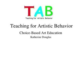 teaching-for-artistic-behavior-tab by katherinedouglas via Slideshare
