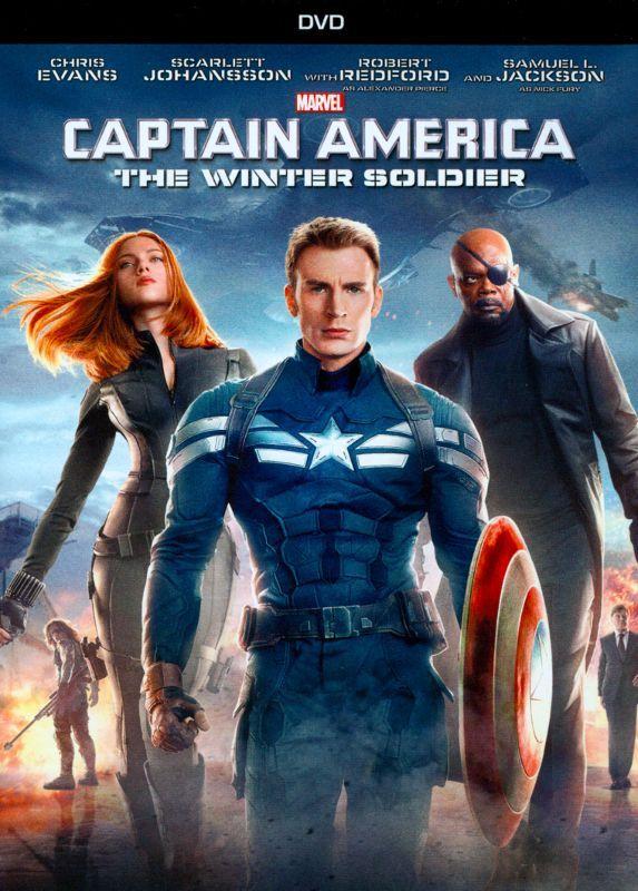 Captain America The Winter Soldier Dvd 2014 Capitao America
