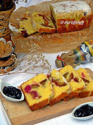 Alice Kitchenette: Checul bunicii - malai dulce cu prune
