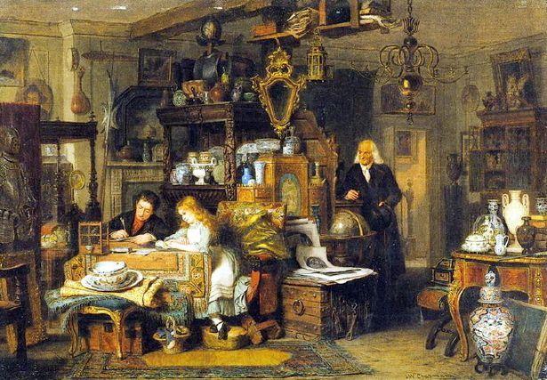 John Watkins Chapman (1832 – 1903, English) The Old Curiosity Shop