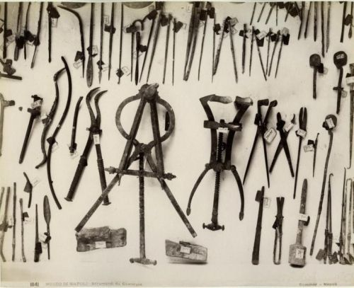 Surgical Tools from Pompeii