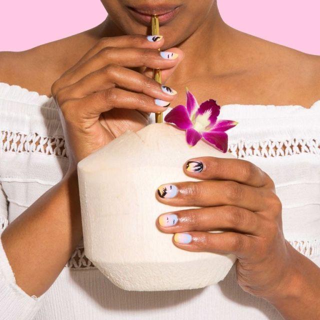Nail art tutorial: come realizzare un tramonto da tropici sulle tue unghie -cosmopolitan.it