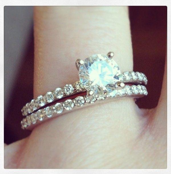 Beautiful ring set.