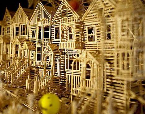 Toothpick Sculpture 127 best toothpick art images on pinterest | toothpick sculpture