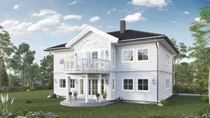 Hustype Sandviken i klassisk og herskapelig stil fra Blink Hus